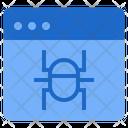 Website Virus Browser Internet Icon