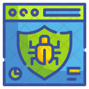 Website Virus Website Bug Bug Icon