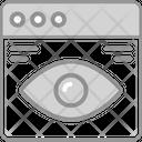 Website Vision Web Icon