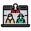 Website Visitors Icon