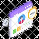 Website Vpn Icon