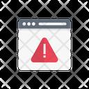 Warning Error Web Icon