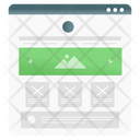 Website Wireframe Icon