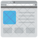 Website Layout Template Icon