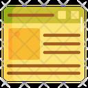 Websitetemplate Icon