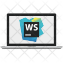 Webstorm Application Development Icon