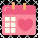Wedding Schedule Icon