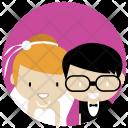 Wedding Couple Bride Icon