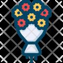 Wedding Flower Bouquet Icon