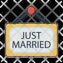 Wedding Marriage Tag Icon