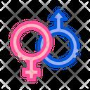 Male Female Gender Icon
