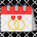 Wedding Love Valentine Icon