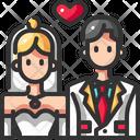 Bride Ceremony Couple Icon