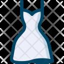Wedding Dress White Icon