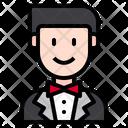Wedding Love Male Icon