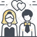 Wedding Couple Marriage Couple Wedding Icon
