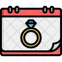Wedding Marriage Day Icon
