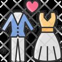Wedding Wedding Dress Wedding Clothe Icon
