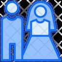 Wedding Couple Relationship Icon