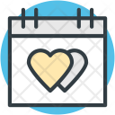 Wedding Day Valentine Icon