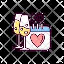 Wedding Anniversary Icon