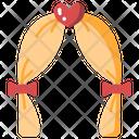 Wedding Arch Heart Icon