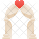 Wedding Love Wedding Arch Icon