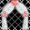 Wedding Arch Marriage Icon