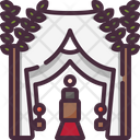 Wedding Arch Birthday And Party Romantic Icon
