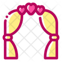 Wedding Arch Decoration Marriage Icon