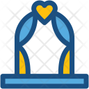 Wedding Arch Celebration Icon