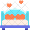 Wedding Bed Icon