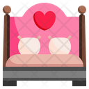 Wedding Bed Bed Room Icon