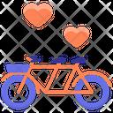 Wedding Bike Bike Wedding Icon