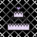 Wedding Cake Food Icon