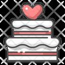 Wedding Cake Cake Party Icon