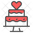 Cake Wedding Marriage Icon