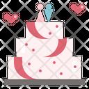 Wedding Cake Celebration Icon