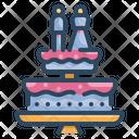 Cake Bakery Sweet Icon