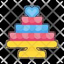 Wedding cake Icon