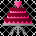 Cake Wedding Party Icon