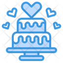 Cake Love Valentine Icon