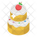 Wedding Cake Cream Cake Dessert Icon