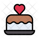 Cake Love Romance Icon
