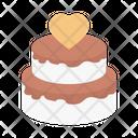 Cake Birthday Wedding Icon