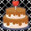 Wedding Cake Dating Cake Tiered Cake Icon