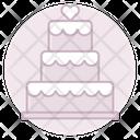 Wedding Cake Wedding Cake Icon