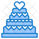 Wedding Cake Cake Wedding Icon
