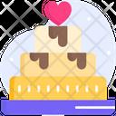 Wedding Cake Marriage Cake Engagement Cake Icon