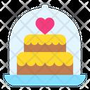 Wedding Cake Cake Sweet Icon